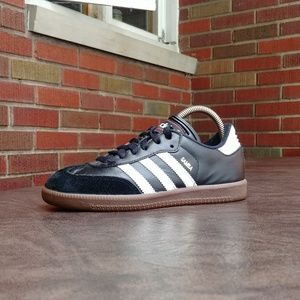 Youth Adidas Samba Casual Trainers Shoes Sz 3.5Y